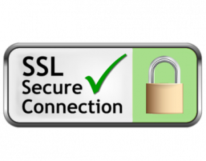 SSL veilige verbinding logo