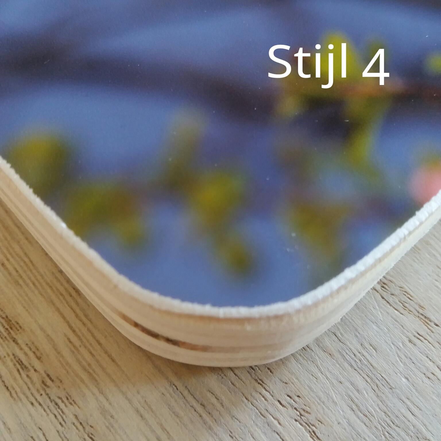 Stijl 4 : afgeronde hoeken