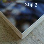 Stijl 2 : rechte hoeken