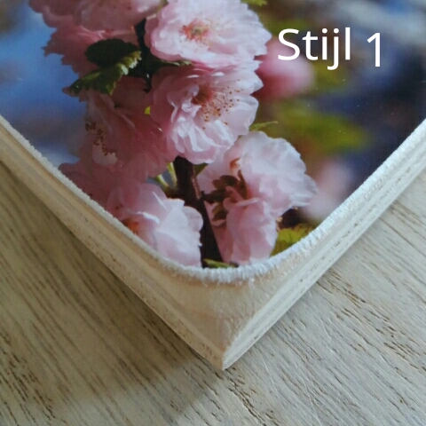 Fotoblokken - foto op hout-foto op houten blok - houten blok met foto