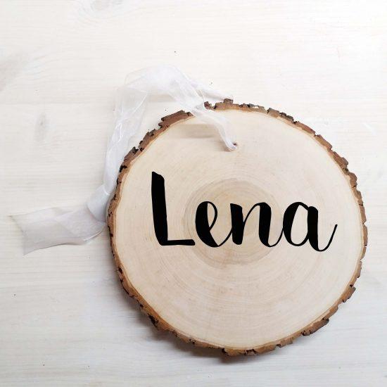 Boomschijf met naam -boomschijf lettertypen -Boomschijf met naam - Family sign Boomschijf met naam - Tekst op boomschijf - Tekst op hout - landelijke woondecoratie - Wood Slice Sign - woodslice family sign - woodslice