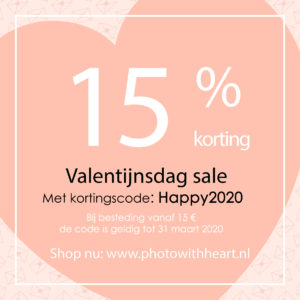 Photo With Heart SALE